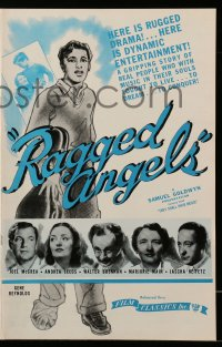 2622 THEY SHALL HAVE MUSIC pressbook R44 directed by Archie Mayo, Joel McCrea, Ragged Angels!