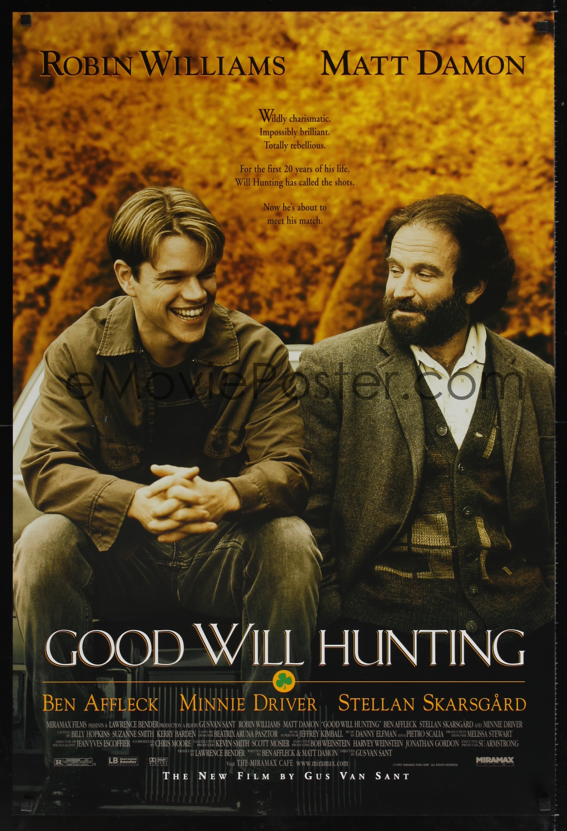 eMoviePoster.com Image For: 0171UF GOOD WILL HUNTING 1sh ... Matt Damon
