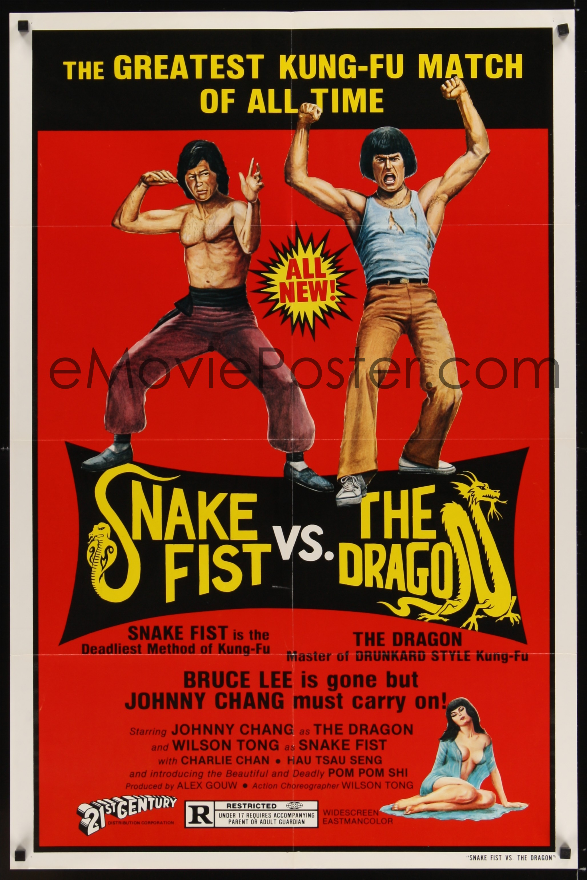 Snake fist vs the dragon