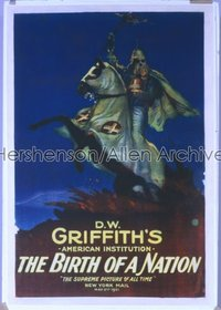 171 BIRTH OF A NATION R1921, linen 1sheet