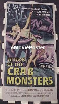 #051 ATTACK OF THE CRAB MONSTERS 3sh '57