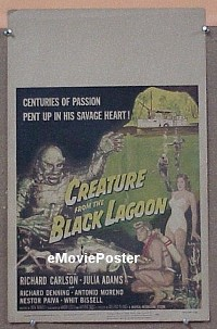 #095 CREATURE FROM THE BLACK LAGOON WC '54