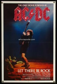 m010 LOT OF 300 '70s & '80s 1SHEETS w/Let There Be Rock