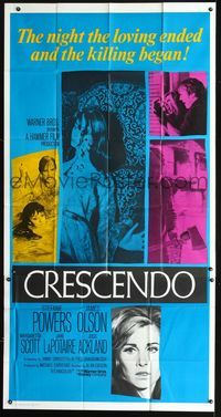 2p103 CRESCENDO int'l 3sh '70 Hammer, Stefanie Powers, the night loving ended & the killing began!