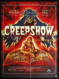 2p198 CREEPSHOW French 1p '82 Romero & King's tribute to E.C. Comics, best different art by Melki!