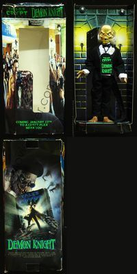 2p326 DEMON KNIGHT CRYPTKEEPER FIGURE action figure '94 cool talking action figure in original box!