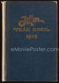 5b165 FILM DAILY YEARBOOK OF MOTION PICTURES 7th edition hardcover book '25 comprehensive!