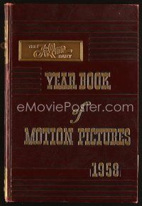 5b168 FILM DAILY YEARBOOK OF MOTION PICTURES 40th edition hardcover book '58 comprehensive!