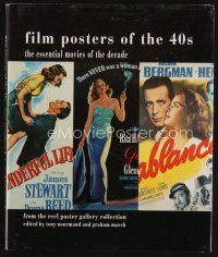 5b170 FILM POSTERS OF THE 40s signed & numbered 1st ed. hardcover book '02 by Tony Nourmand #34/500
