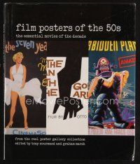 5b171 FILM POSTERS OF THE 50s first edition #84/500 hardcover book '00 by Tony Nourmand & Marsh!