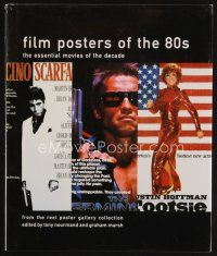 5b173 FILM POSTERS OF THE 80s signed & numbered 1st ed. hardcover book '01 by Tony Nourmand 347/500