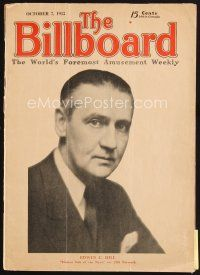 5b074 BILLBOARD exhibitor magazine Oct 7, 1933 the famous mag, long before it only covered music!