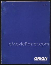 5b301 F/X2 first draft script November 1989, screenplay by Bill Condon!