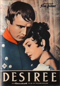 5b209 DESIREE German program '55 different images of Marlon Brando & beautiful Jean Simmons!