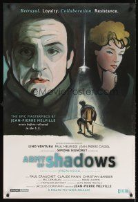 6t200 ARMY OF SHADOWS 1sh '06 Jean-Pierre Melville's L'Armee des ombres, Kimura artwork!