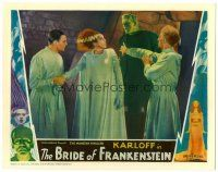 #1524 BRIDE OF FRANKENSTEIN lobby card '35 Boris Karloff