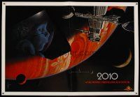 8a445 2010 advance special poster '84 year we make contact, sci-fi sequel to 2001: A Space Odyssey!