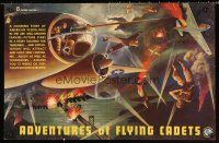 8a451 ADVENTURES OF THE FLYING CADETS special 14x22 '43 Universal serial, 13 sky-searing chapters!