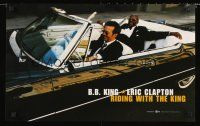 8a180 B.B. KING-ERIC CLAPTON: RIDING WITH THE KING album promo '00 cool image in convertible!