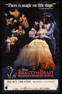 8a066 BEAUTY & THE BEAST stage play special 14x22 '94 Robert Jess Roth Broadway musical!