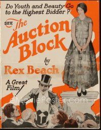 1x484 AUCTION BLOCK herald '26 Rex Beach, do youth and beauty go to the highest bidder!