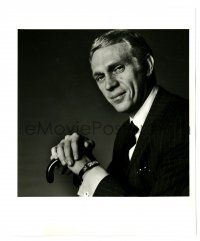 1m912 THOMAS CROWN AFFAIR deluxe 8x10 still '68 great dapper portrait of Steve McQueen by Avedon!