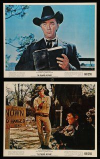 9s133 5 CARD STUD 2 color 8x10 stills '68 cowboys Robert Mitchum, Roddy McDowall!