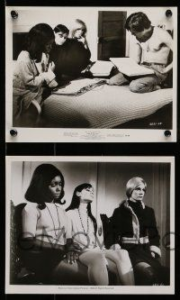 9s590 3 IN THE ATTIC 5 8x10 stills '68 great images of Yvette Mimieux, Christopher Jones!