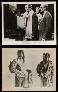 9s277 ABOMINABLE SNOWMAN OF THE HIMALAYAS 10 8x10 stills '57 Peter Cushing, man-beast of Tibet!