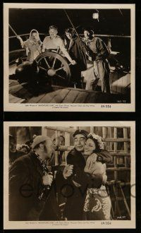 9s691 ADVENTURE'S END 4 8x10 stills R49 cool images of Diana Gibson, Glenn Strange and sailors!