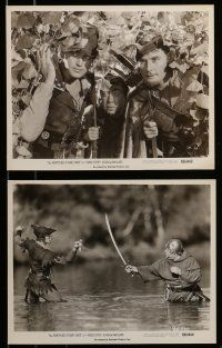 9s246 ADVENTURES OF ROBIN HOOD 11 8x10 stills R56 Errol Flynn, Olivia De Havilland, classic!