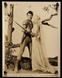 9s433 BANDIT OF SHERWOOD FOREST 7 8x10 stills '45 cool images of Cornel Wilde, Anita Louise!