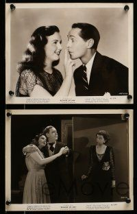 9s592 BECAUSE OF HIM 5 8x10 stills '45 Deanna Durbin, Franchot Tone & Charles Laughton!