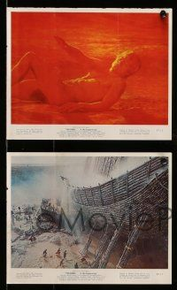 9s096 BIBLE 5 color 8x10 stills '67 John Huston's La Bibbia, Michael Parks, Huston as Noah!