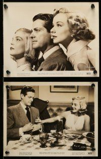 9s480 PAID IN FULL 7 8x10 stills '50 Robert Cummings, Lizabeth Scott, Diana Lynn