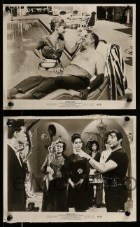 9s768 PAJAMA PARTY 4 8x10 stills '64 Buster Keaton as Native American, Annette Funicello!