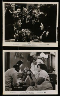 9s557 PATSY 6 8x10 stills '64 great images of wacky Jerry Lewis & Ina Blain!