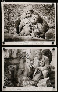 9s302 PLAY DIRTY 10 8x10 stills '69 Michael Caine, Nigel Davenport, English World War II images!