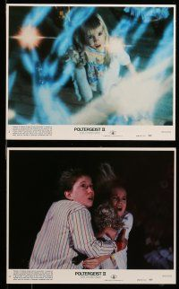 9s056 POLTERGEIST II 8 8x10 mini LCs '86 JoBeth Williams, The Other Side, they're baaaack!
