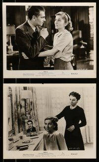 9s560 REBECCA 6 8x10 stills R56 Laurence Olivier, Joan Fontaine & others, Hitchcock!
