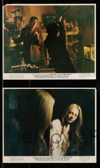 9s104 REFLECTION OF FEAR 5 color 8x10 stills '72 Robert Shaw, Kellerman, Locke, creepy horror!