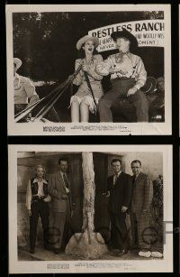 9s662 ROBIN HOOD OF TEXAS 5 8x10 stills '47 great images of Lynne Roberts, Sterling Holloway