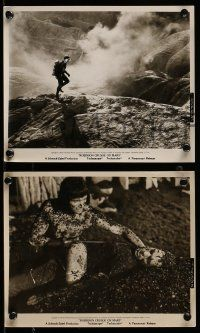 9s898 ROBINSON CRUSOE ON MARS 3 8x10 stills '64 sci-fi, Paul Mantee & his man Friday Victor Lundin!