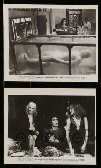 9s664 ROCKY HORROR PICTURE SHOW 5 8x10 stills '75 Tim Curry, Sarandon, Bostwick, Quinn, Meatloaf!