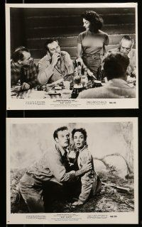 9s400 RUBY GENTRY 8 8x10 stills R60 sleazy bad girl Jennifer Jones & Charlton Heston!
