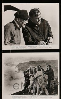 9s779 RYAN'S DAUGHTER 4 8x10 stills '70 David Lean candids, Robert Mitchum!