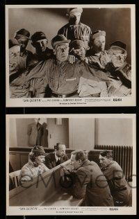 9s781 SAN QUENTIN 4 8x10 stills R56 sexy Ann Sheridan, Joe Sawyer, images of the prison & inmates!