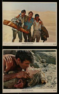 9s015 SANDS OF THE KALAHARI 9 color 8x10 stills '65 Stuart Whitman, Stanley Baker, Susannah York