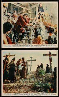 9s110 BARABBAS 4 color English FOH LCs '62 Richard Fleischer, Anthony Quinn, Silvana Mangano!