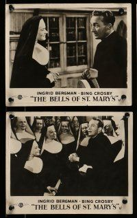 9s507 BELLS OF ST. MARY'S 6 English FOH LCs '46 Bing Crosby, Bergman & Leo McCarey!